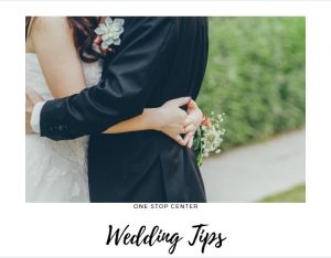 Is all about Wedding Tips?